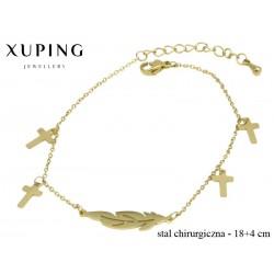 Bransoletka ze stali chirurgicznej Xuping - MF4606
