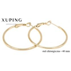 Kolczyki ze stali chirurgicznej Xuping - MF4749