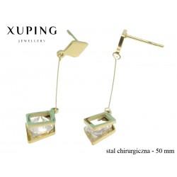 Kolczyki ze stali chirurgicznej Xuping - MF4554