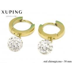 Kolczyki ze stali chirurgicznej Xuping - MF4751-2