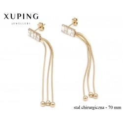 Kolczyki ze stali chirurgicznej Xuping - MF4698