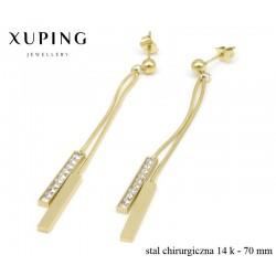 Kolczyki ze stali chirurgicznej Xuping - MF4696
