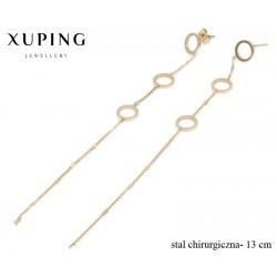 Kolczyki ze stali chirurgicznej Xuping - MF4544