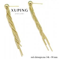 Kolczyki ze stali chirurgicznej Xuping - MF4907B
