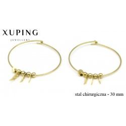 Kolczyki ze stali chirurgicznej Xuping - MF4563