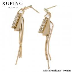 Kolczyki ze stali chirurgicznej Xuping - MF4547