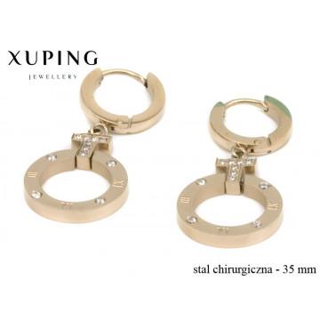 Kolczyki ze stali chirurgicznej Xuping - MF4541
