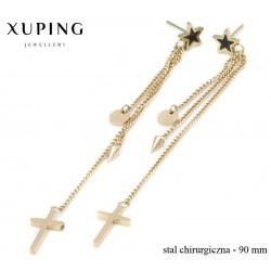 Kolczyki ze stali chirurgicznej Xuping - MF4536