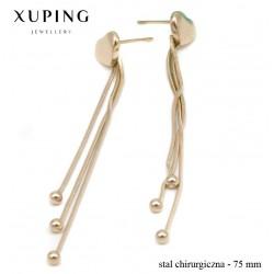 Kolczyki ze stali chirurgicznej Xuping - MF4533