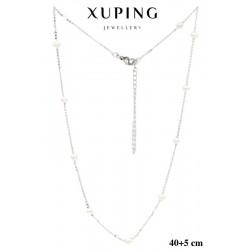 Naszyjnik rodowany Xuping - MF5264-2
