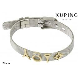 Bransoletka ze stali chirurgicznej Xuping - MF5981