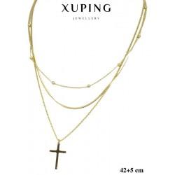 Naszyjnik ze stali chirurgicznej Xuping 14k - MF5923