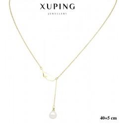 Naszyjnik ze stali chirurgicznej Xuping 14k - MF5915