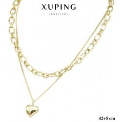 Naszyjnik ze stali chirurgicznej Xuping 14k - MF5862