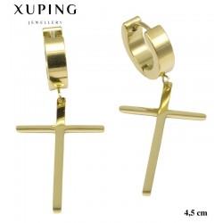 Kolczyki ze stali chirurgicznej Xuping 14k - MF5324G