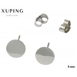 Kolczyki ze stali chirurgicznej Xuping 14k - MF5323SA