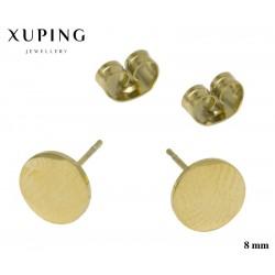 Kolczyki ze stali chirurgicznej Xuping 14k - MF5323GA