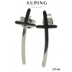 Kolczyki ze stali chirurgicznej Xuping - MF5322S