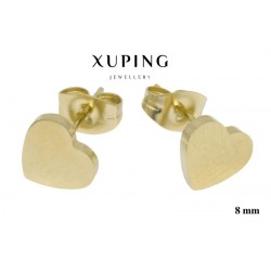 Kolczyki ze stali chirurgicznej Xuping 14k - MF2132GG