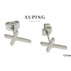 Kolczyki ze stali chirurgicznej Xuping - MF2131SA