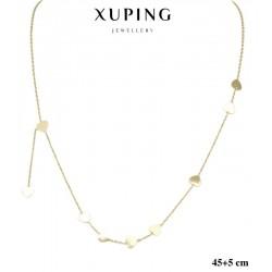 Naszyjnik ze stali chirurgicznej Xuping 14k - MF5846