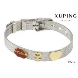 Bransoletka ze stali chirurgicznej Xuping - MF6099