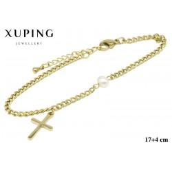 Bransoletka ze stali chirurgicznej Xuping 14k - MF5861