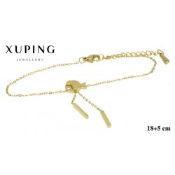 Bransoletka ze stali chirurgicznej Xuping 14k - MF4623