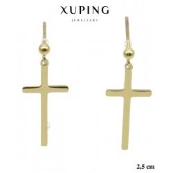 Kolczyki ze stali chirurgicznej Xuping 14k - MF5687