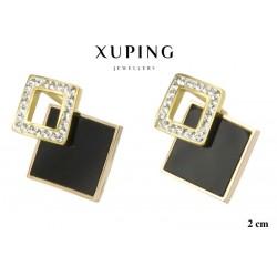 Kolczyki ze stali chirurgicznej Xuping 14k - MF5910