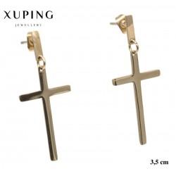 Kolczyki ze stali chirurgicznej Xuping 14k - MF5254