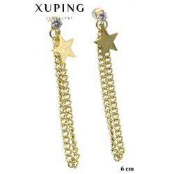 Kolczyki ze stali chirurgicznej Xuping 14k - MF5716