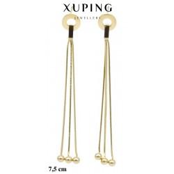 Kolczyki ze stali chirurgicznej Xuping 14k - MF5102