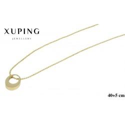 Naszyjnik ze stali chirurgicznej Xuping 14k - MF6153