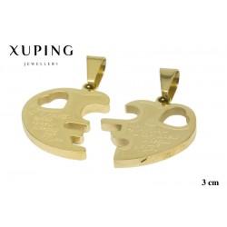 Przywieszka ze stali chirurgicznej Xuping 14K - MF6360