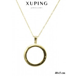 Naszyjnik ze stali chirurgicznej Xuping 14k - MF6335