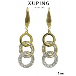 Kolczyki ze stali chirurgicznej Xuping - MF6182