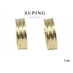 Kolczyki ze stali chirurgicznej Xuping 14k - MF6363
