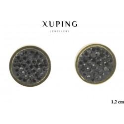 Kolczyki ze stali chirurgicznej Xuping 14k - MF6265