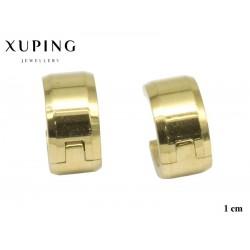 Kolczyki ze stali chirurgicznej Xuping 14k - MF6365