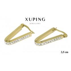 Kolczyki ze stali chirurgicznej Xuping 14k - MF6333