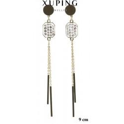 Kolczyki ze stali chirurgicznej Xuping 14k - MF5112