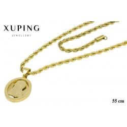 Naszyjnik ze stali chirurgicznej Xuping 14k - NS2