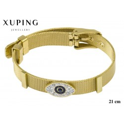 Bransoletka ze stali chirurgicznej Xuping 14k - MF6960