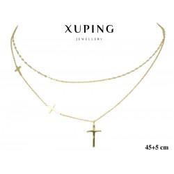 Naszyjnik ze stali chirurgicznej Xuping 14k - MF6995