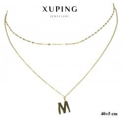 Naszyjnik ze stali chirurgicznej Xuping 14k - MF6559