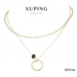 Naszyjnik ze stali chirurgicznej Xuping 14k - MF6548