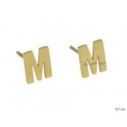 Kolczyki Xuping ze stali chirurgicznej 14k - MF7914