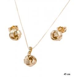 Komplet biżuterii Xuping - MF8666