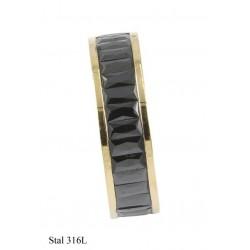 Obrączka Xuping Stal 316L - MF8989-2